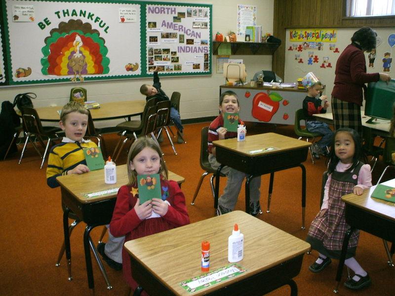 Dan's Class Turkeys 2