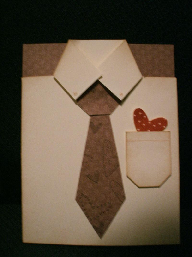 Valentine shirt tie