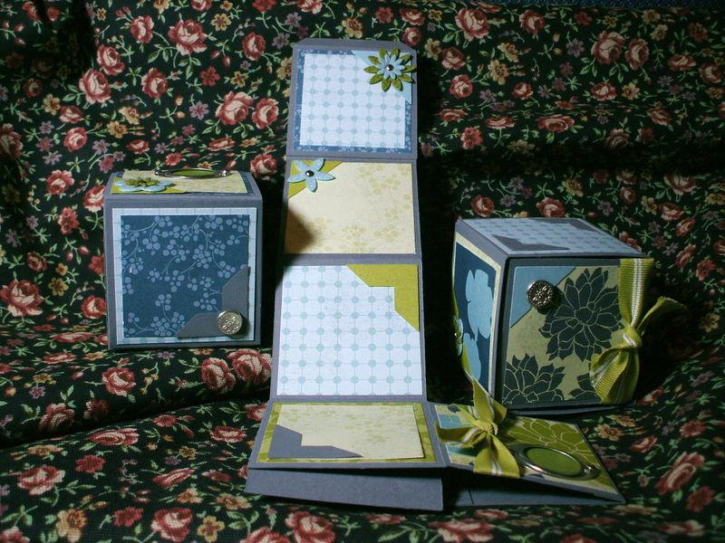 Urban Garden Photo Cubes