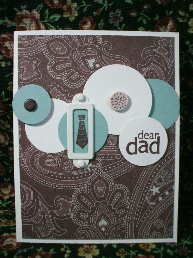 Father's Day Circle card