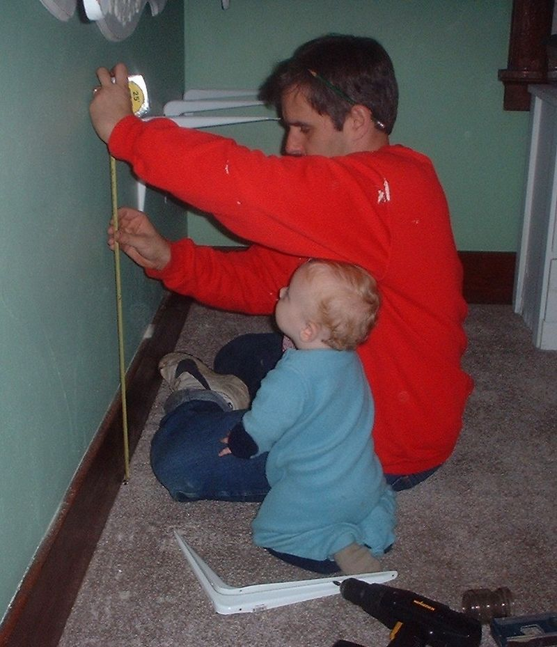 Helping Daddy 1