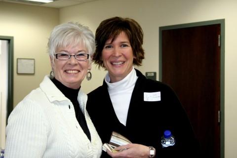 Jodi and Shirley