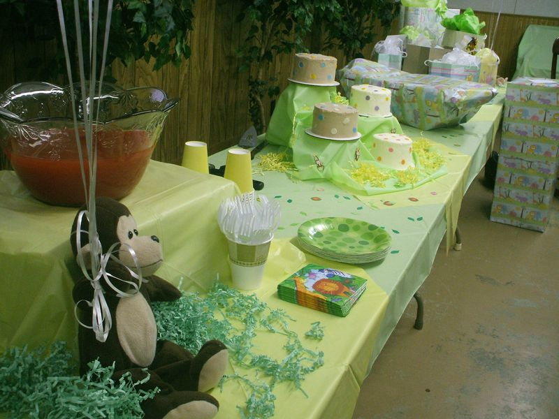Baby Shower For Unknown Gender Theme