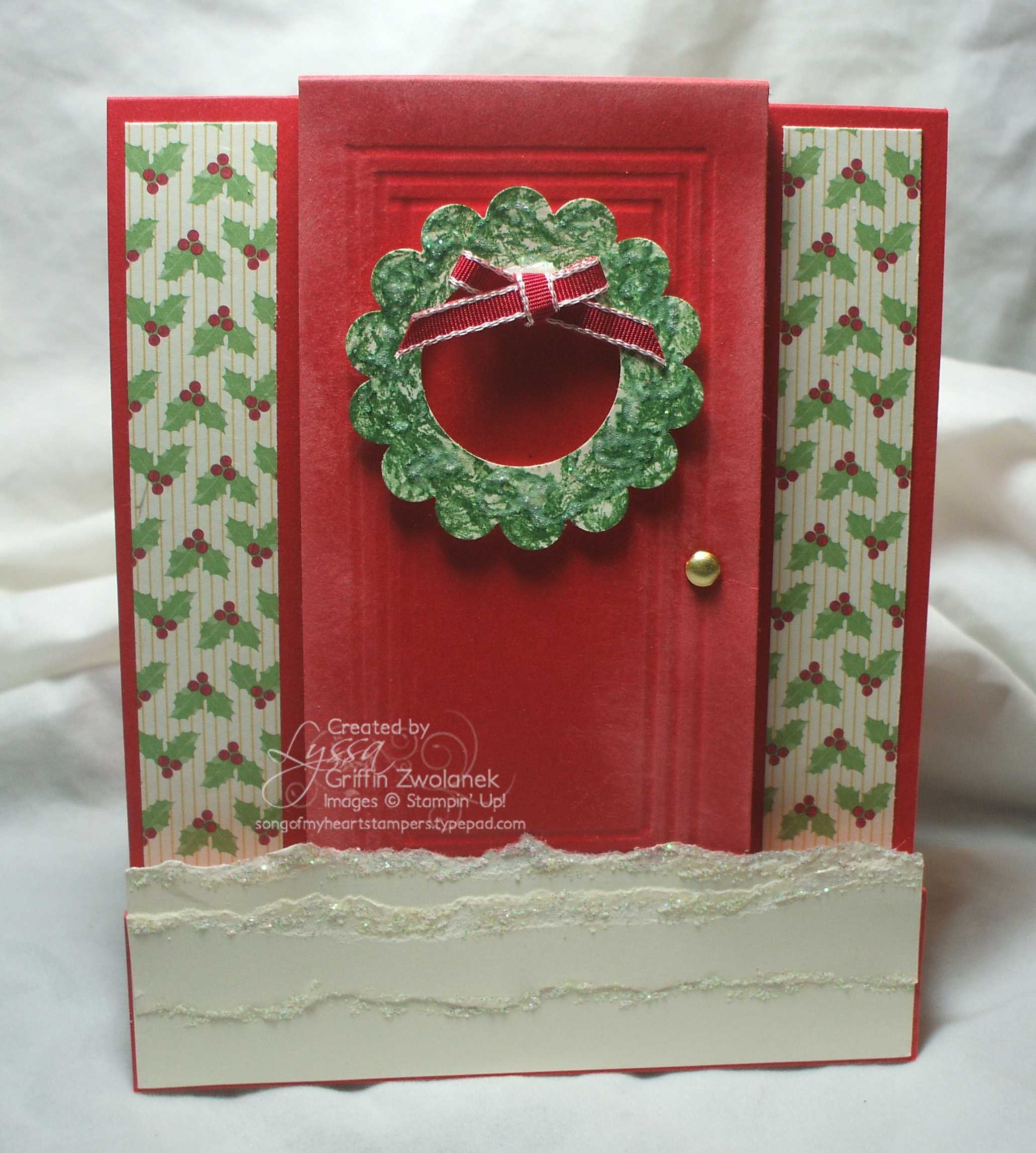Red Front Door Christmas cards for the neighbors - Song of My ...