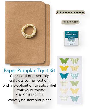 Try Paper Pumpkin SOMHS