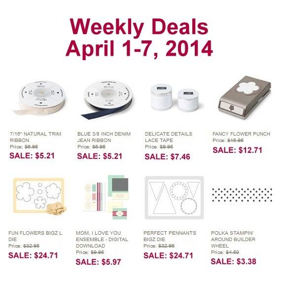 April 1 Weekly Deals