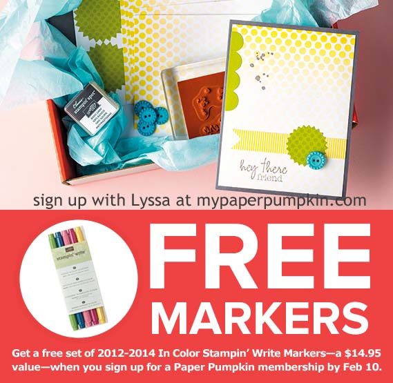 Free Marker Offer