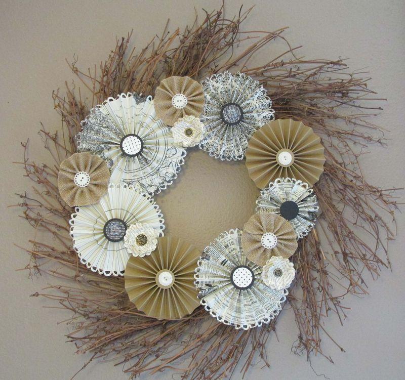 Vintage Wreath SOMHS
