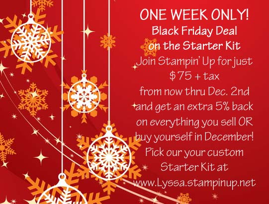 Holiday Extravaganza Starter Kit Sale