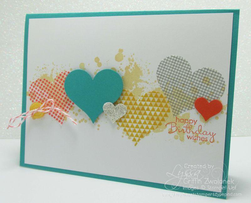 Stampin up washi tape sheets birthday card