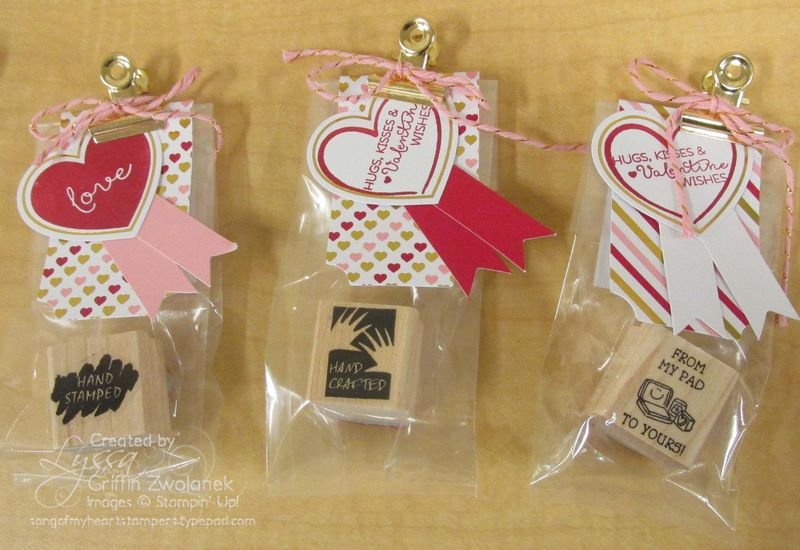 Paper Pumpkin January February 2015 Valentine Stampin Up Treat Kit