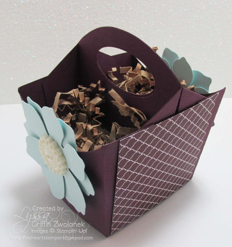 Fry Box Caddy Big Shot Sizzix project