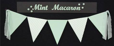 Mint Macaroon