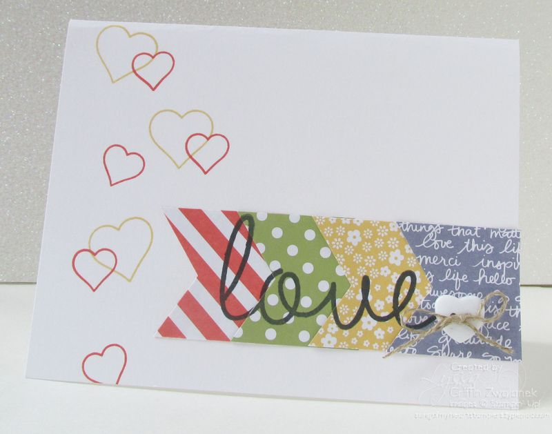 So You Love Banner Stampin Up Card