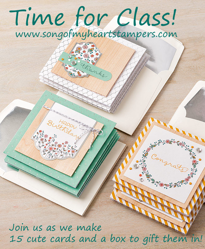 Cottage Greetings Class