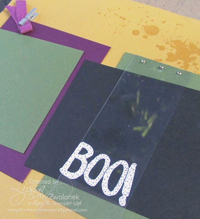 Happy Halloween Boo Overlay Closeup