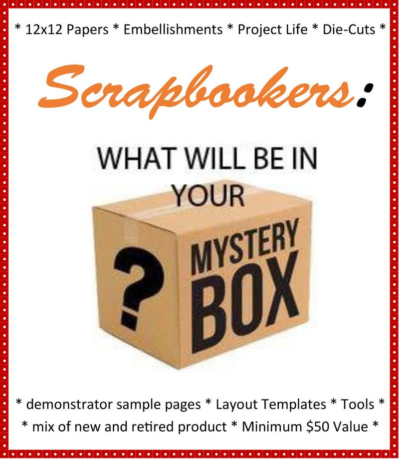Scrapbooker Surprise Box