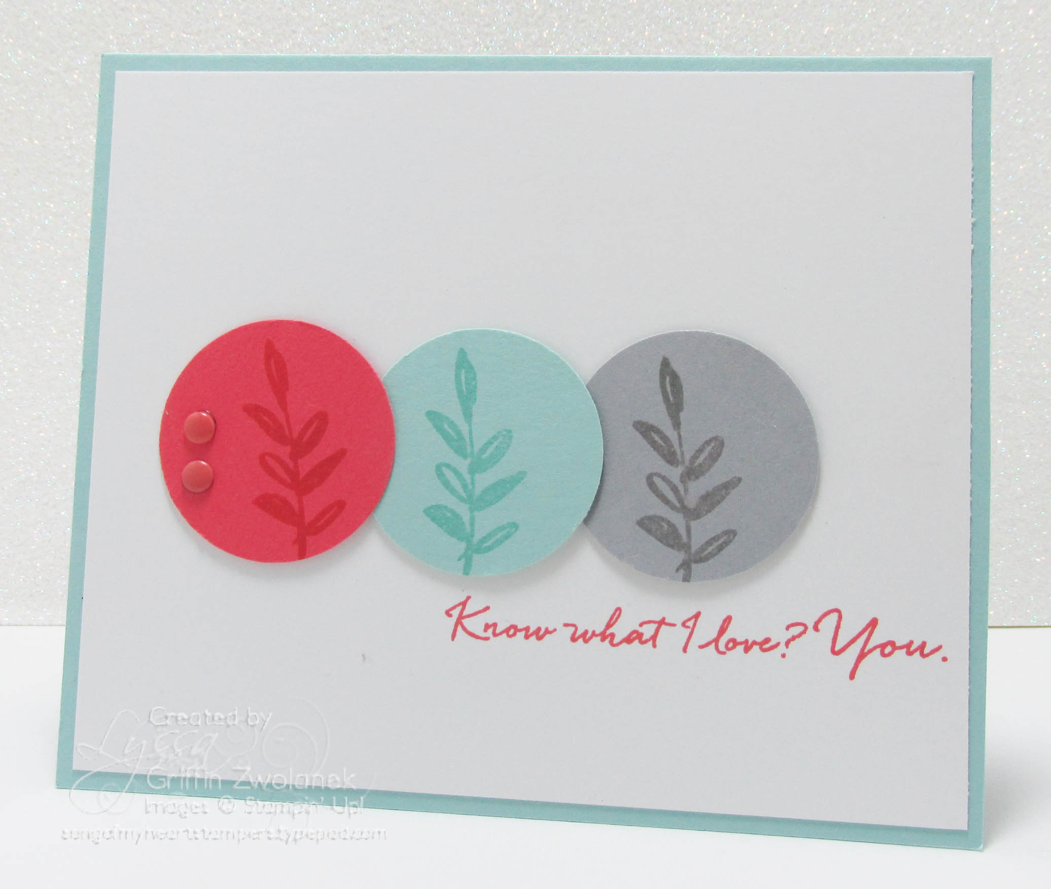 Featured What I Love Stamp Set Get It Free For SAB 2016