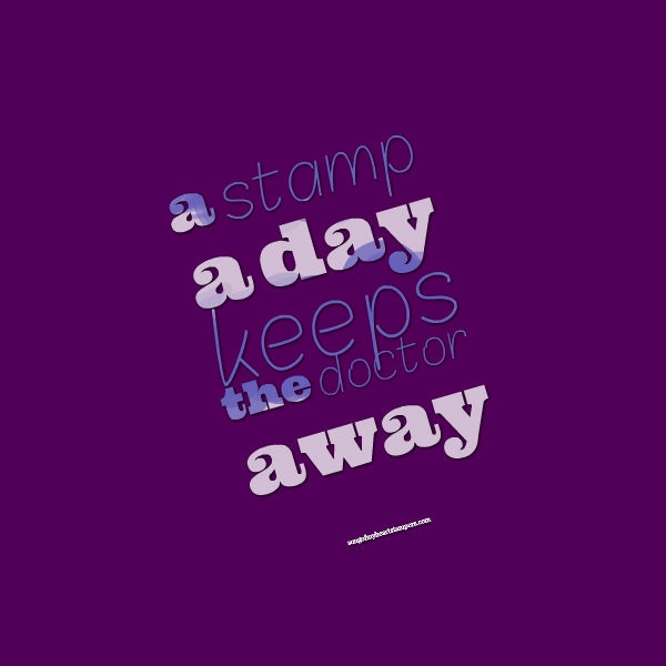 stamp a day keeps doctor away rubber stamping #stampinup www.songofmyheartstampers.com