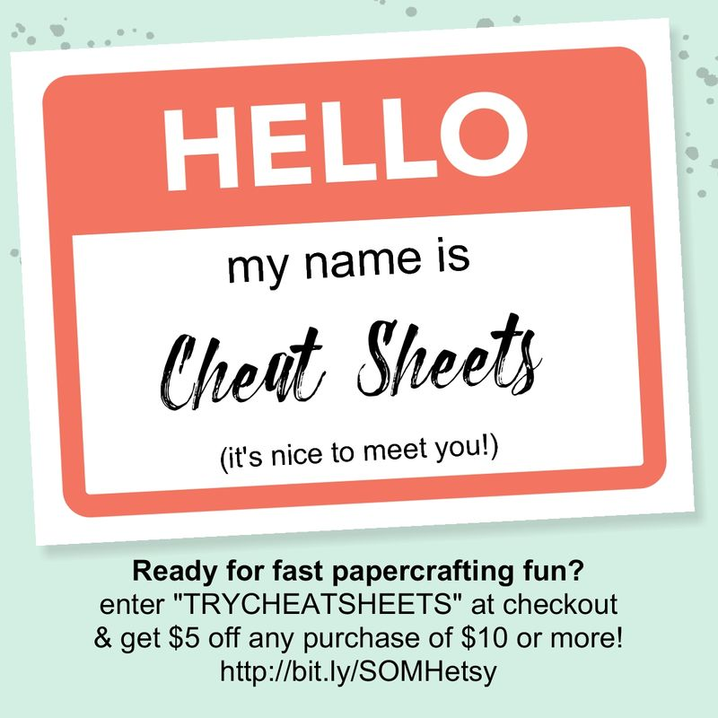Cheat Sheets Sale-001