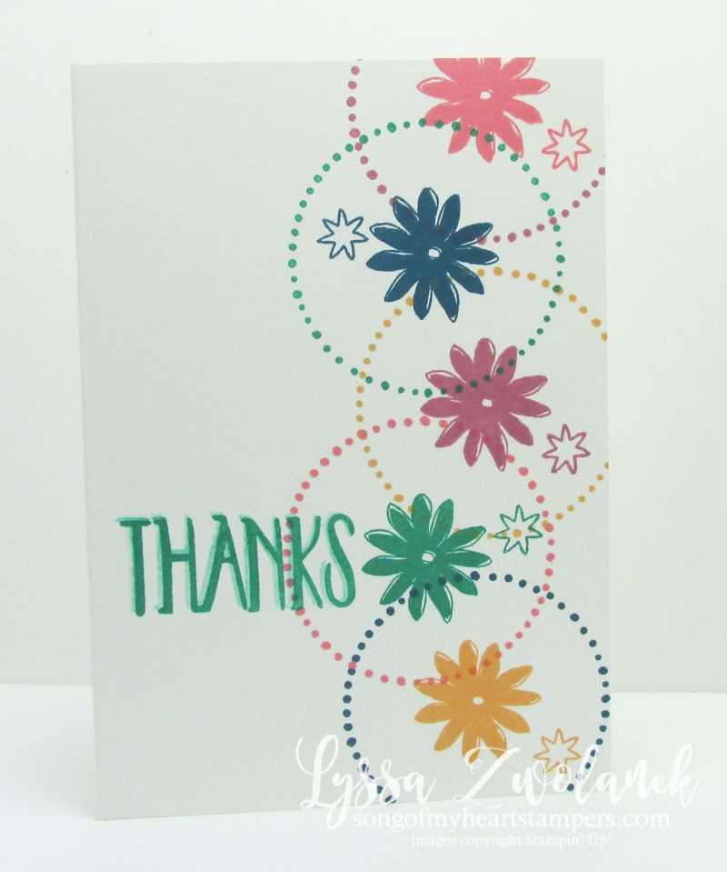 Perfectly wrapped happy day birthday card #stampinup www.songofmyheartstampers