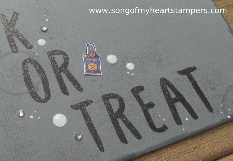 31 pages in 31 Days Song of My Heart Scrapbooking Page cookie cutter punch Halloween treat
