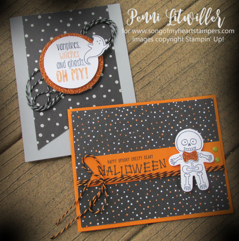 Halloween Sweet Treat Houses Home decor Stampin Up