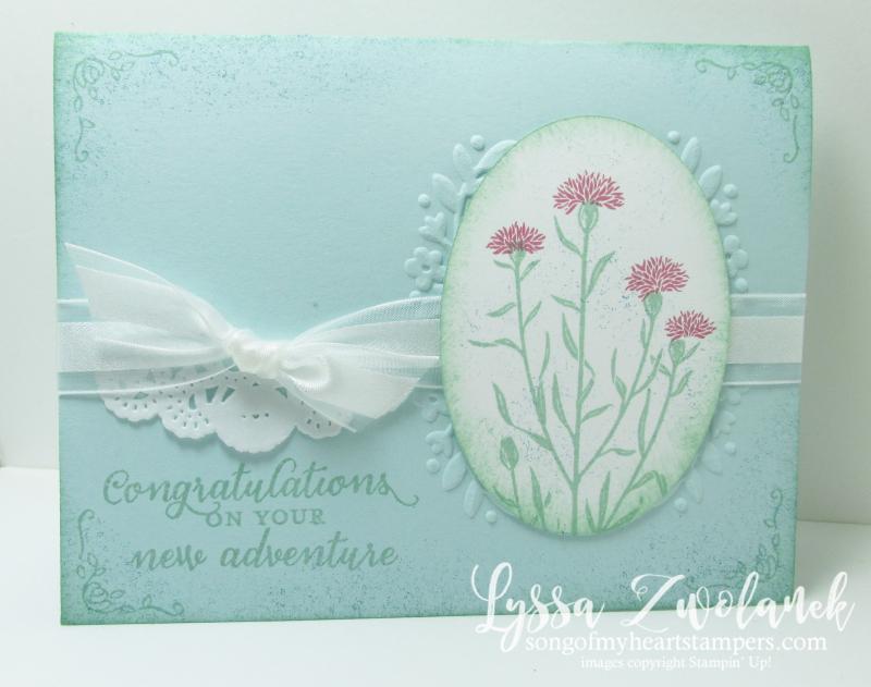 Wild About Flowers wildflower stamp wedding anniversary Stampin Up vintage
