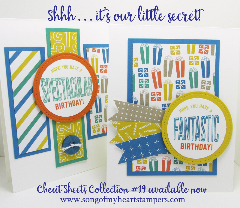 Our little secret Cheat Sheets Collections from Song of My Heart Stampers