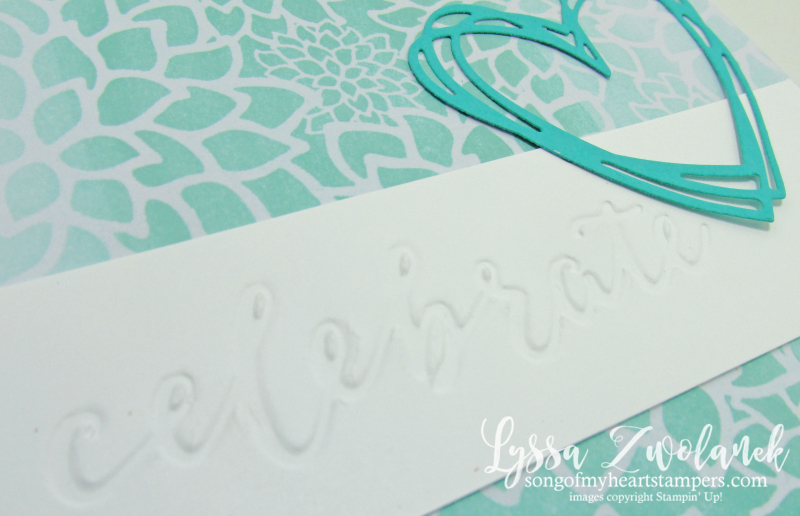Ombre Resist Technique Sale_A_Bration Stampin Up Lyssa Zwolanek card photo tutorial