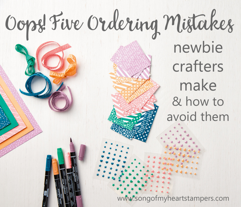 Newbie crafter mistakes and how to avoid