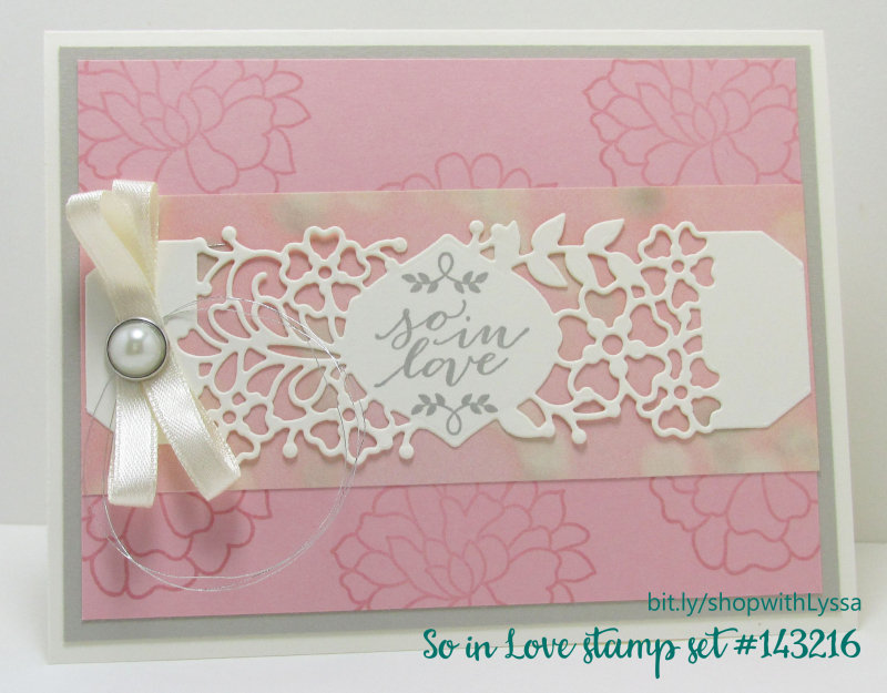 Falling in Love suite Stampin Up Shop with Lyssa sizzix dies diecut cardmaking supplies