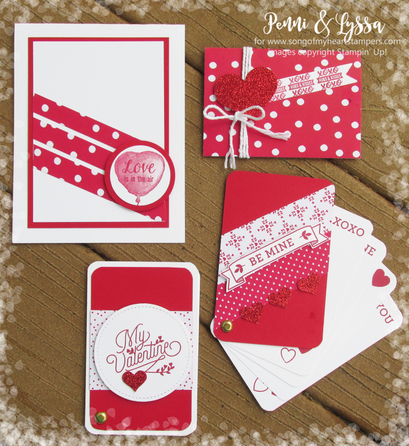 Fancy Valentines Bloomin Heart Casual Love Lace Doily Formal Stampin Up Card