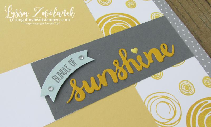 Sunshine starburst sunburst you are my scrapbook pages layout stampin up