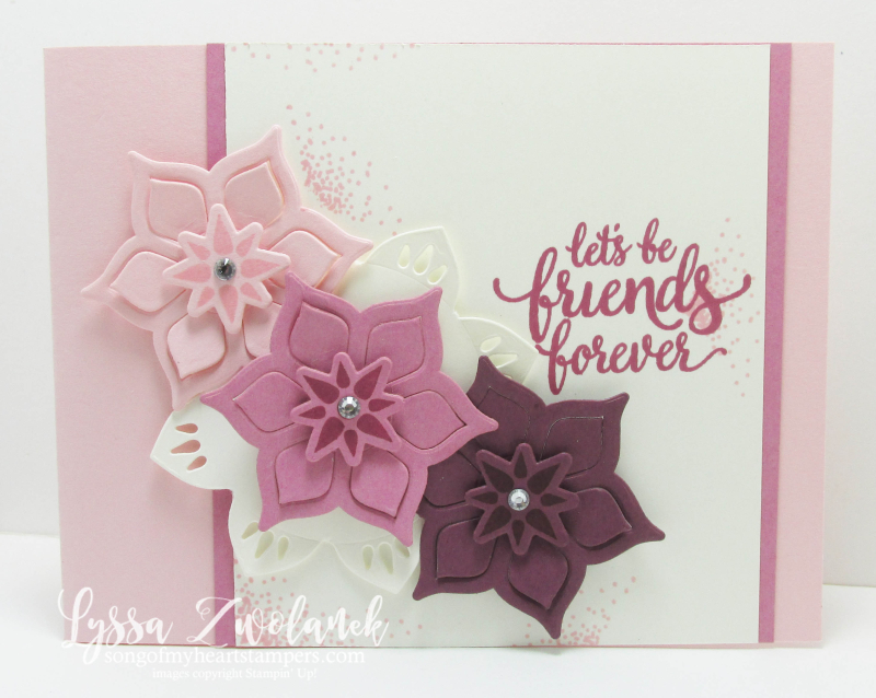 Palace Eastern Suite Stampin Up Lyssa sugarplum sizzix dies cardmaking DIY rubber stamping