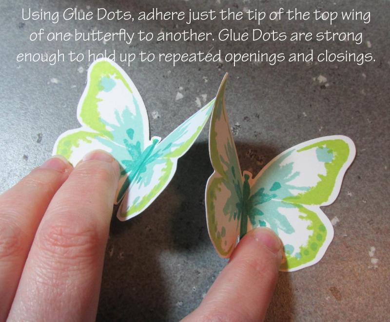 Triple Butterfly Pop Up Card tutorial Lyssa Stampin Up technique bold butterflies rubber stamping sizzix card ideas