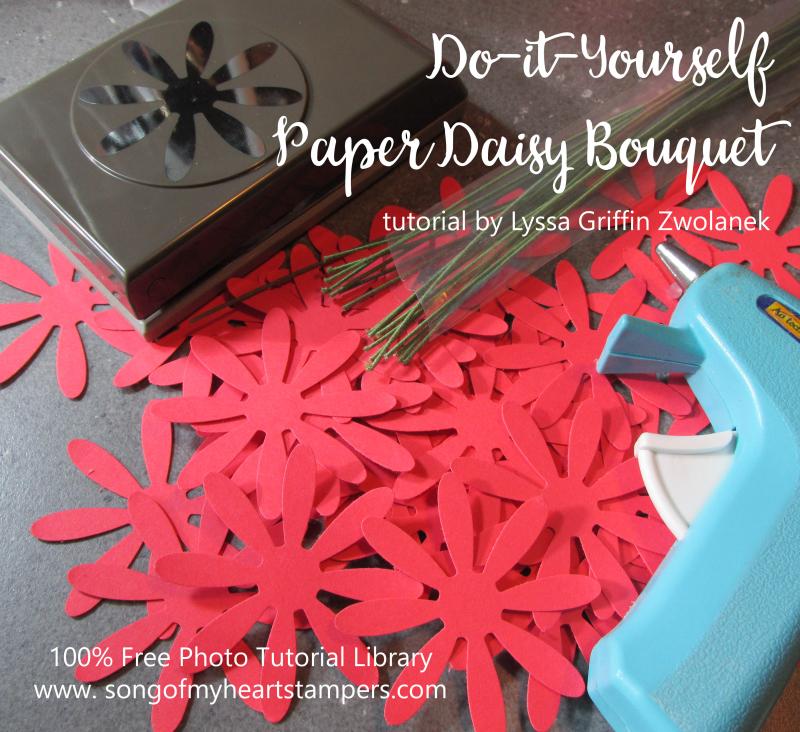 Paper Daisy DIY bouquet bridal shower centerpieces paper flowers mason jars tin pails