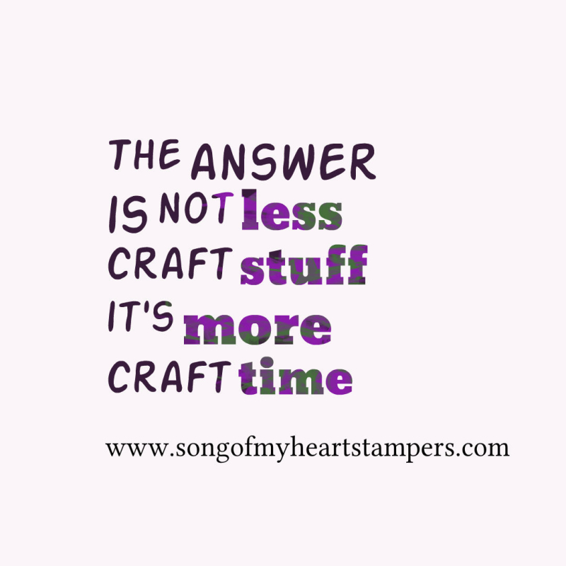More craft time