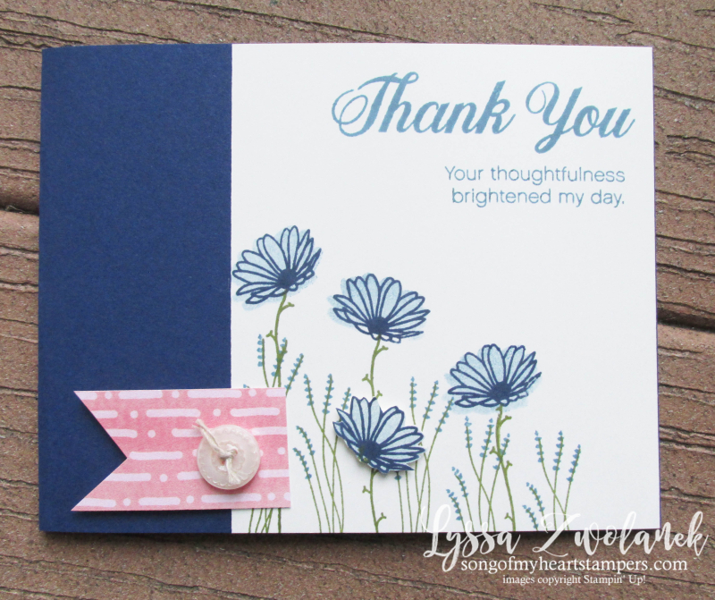Delightful Daisy Punch Bundle Stampin Up shop Lyssa wildflowers rubber stamps art
