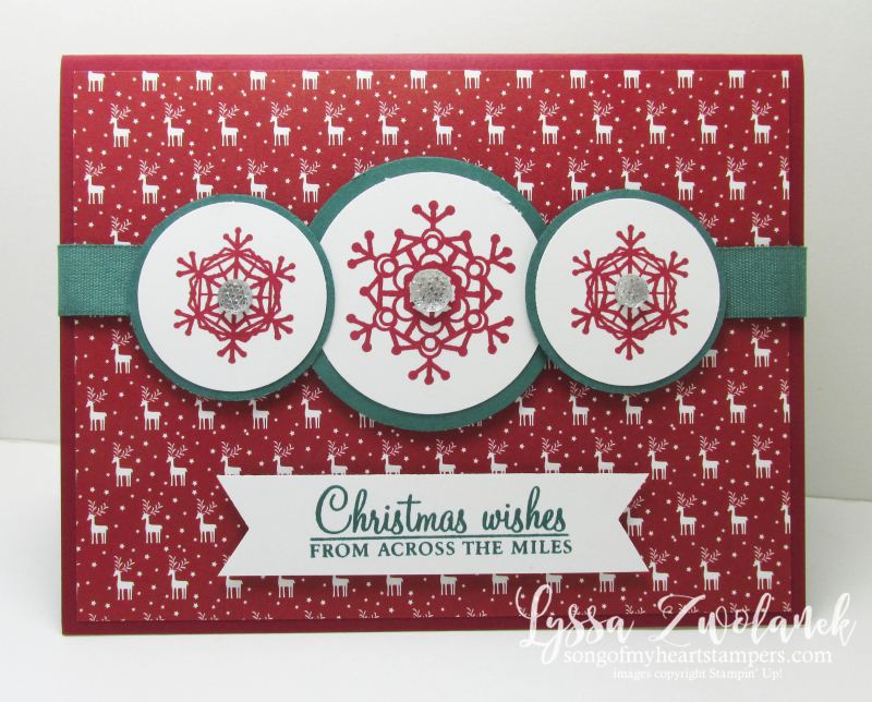 Christmas July Stampin Up sign up starter kit special Lyssa Song of My Heart join now