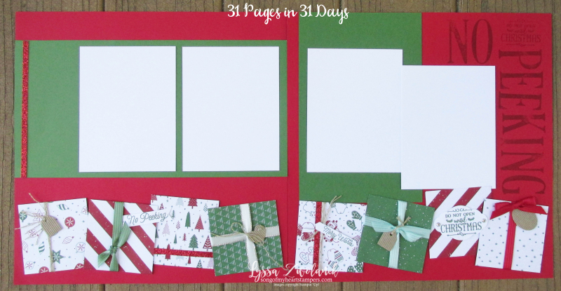 31 pages days scrapbooking summer school Christmas presents pages spread layout