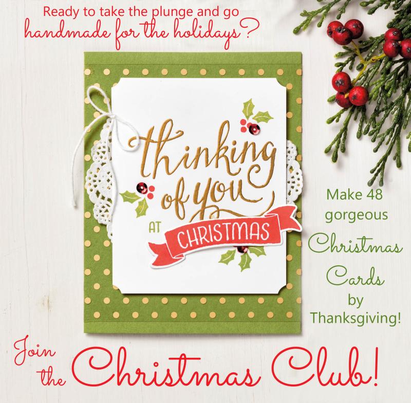 Christmas club graphic
