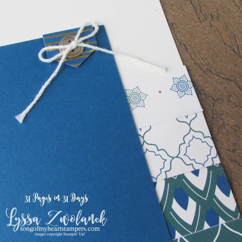 Summer School Scrapbooking Eastern Elegance Palace Medallion scrapbook layouts stampin up shop Lyssa