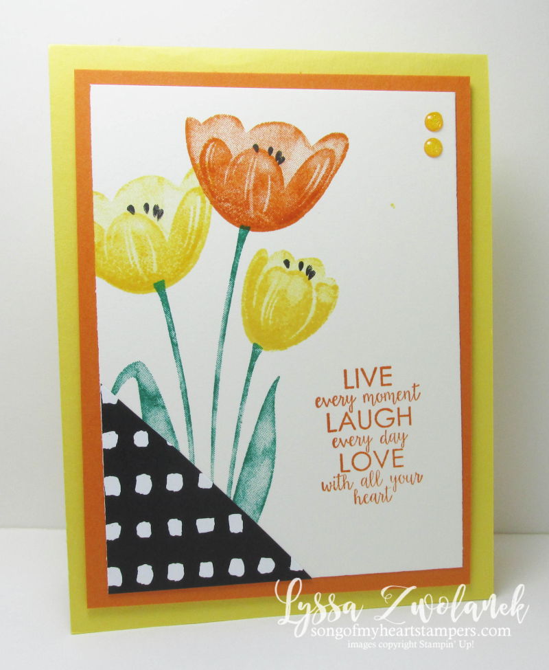 Tranquil Tulips Stampin Up free stamps shop with Lyssa