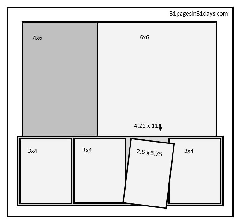 31 Pages in 31 Days sketch week 3