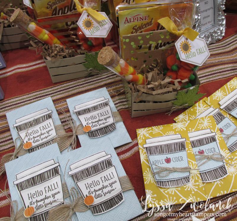 Craft fair display best sellers Stampin Up Lyssa show vendor 7