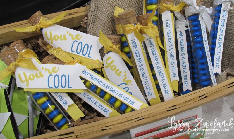Craft fair display best sellers Stampin Up Lyssa show vendor 10