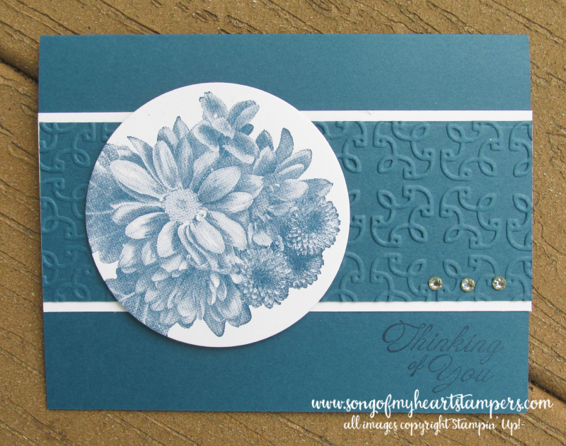 Heartfelt Blooms free stamp set SAB 2018 Stampin Up saleabration daisy stamps