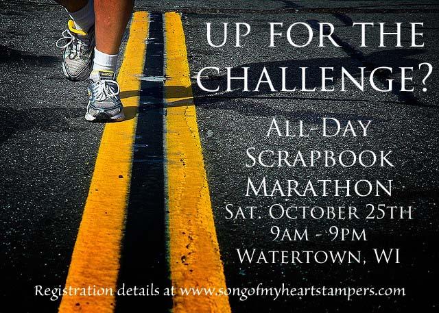 Scrapbook Marathon