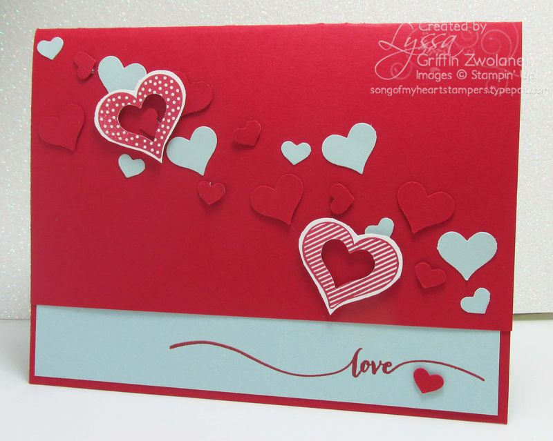 Hello Life Project Life Stampin Up Valentine Card